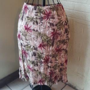 Broomish Midi Floral Skirt